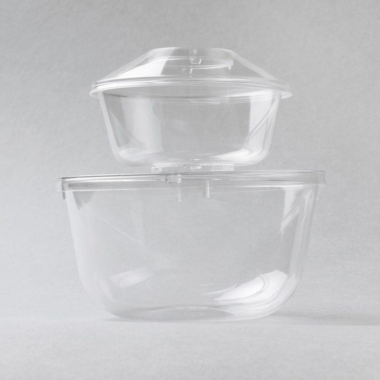 Vaschette in plastica di vari formati, ideale per contenere e trasportare tutti i cibi anche quelli più unti