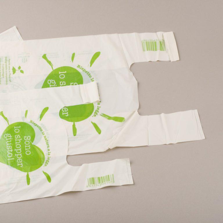 Shopper Bio, ideali per contenere frutta e verdura