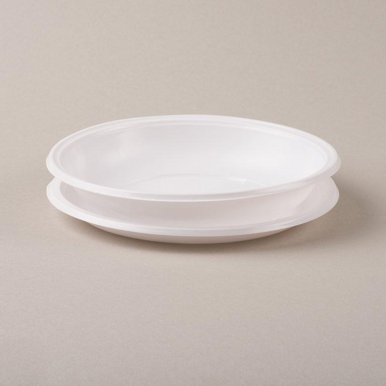 Set di piatti in plastica, ideale come servizio per gli eventi o le serate tra amici