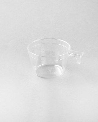 Tazzina in plastica, ideale per servire le bevande o il caffè