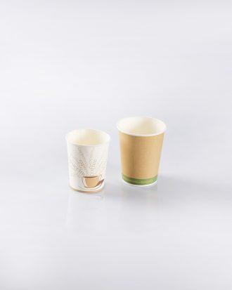 Tazzine da caffè/cappuccino Bio in materiale compostabile, ideali per sorseggiare la propria bevanda preferita