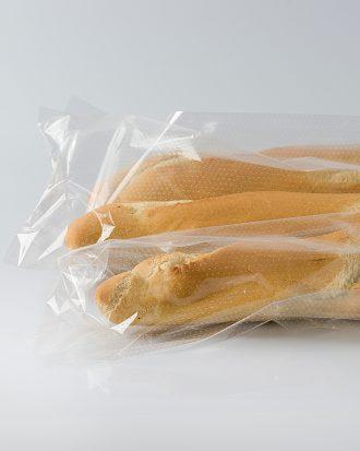 Sacchetti microforato in hd, ideale per prodotti che necessitano di una maggiore traspirabilità