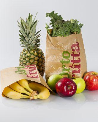 Dal nuovo pensiero del gruppo CCM nasce la linea di sacchetti di carta Avana per l'ortofrutta. Il sacchetto dispone, di un trattamento certificato che lo rende resistente all'umidità, garantendo così un'ottima tenuta per frutta e ortaggi